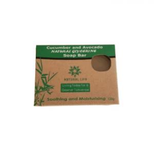 Natural Life Cucumber and Avo soap bar