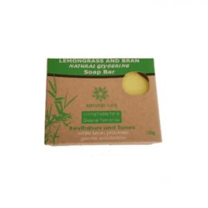 Natural Life Lemon Grass and Bran Soap Bar