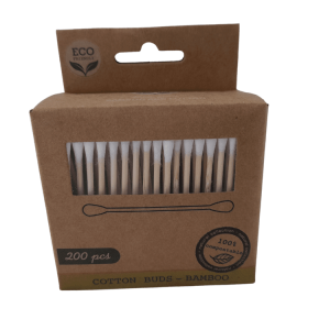 Eco-friendly Lifestyle Bamboo Cotton Buds Swabs